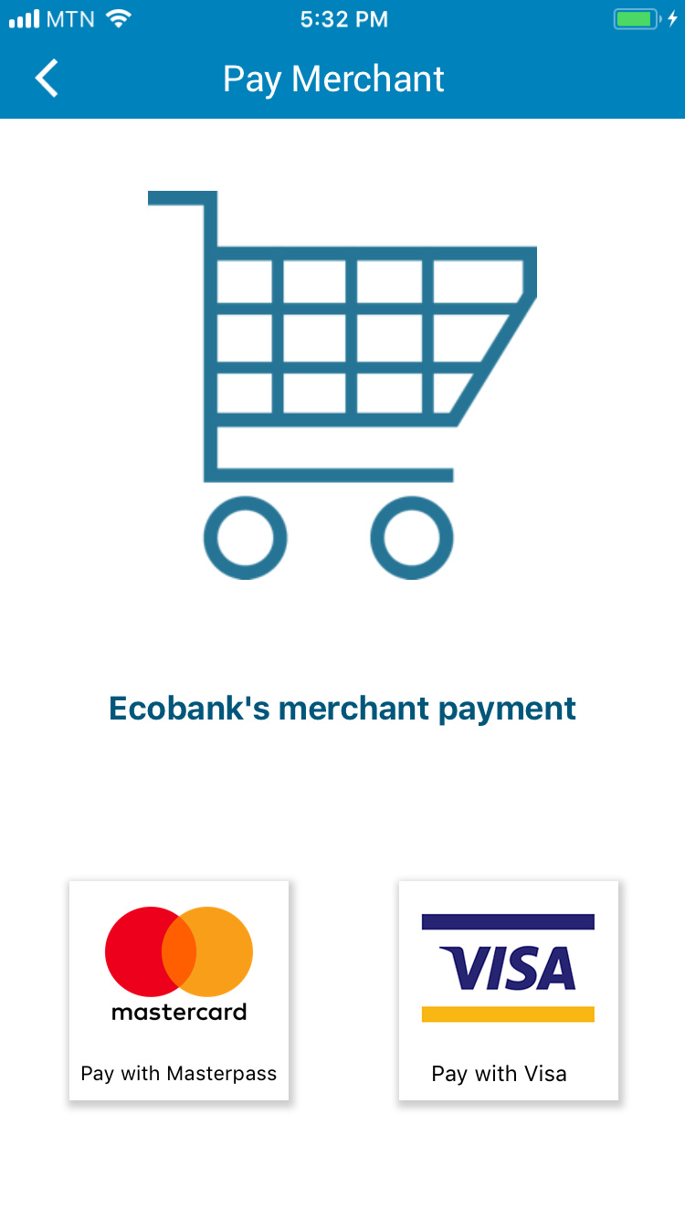 Ecobank - Mobile Banking via App